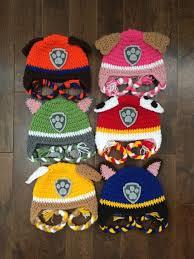 Paw Patrol Crochet Hat Pattern