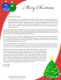 Christmas Letterhead Samples Rome Fontanacountryinn Com