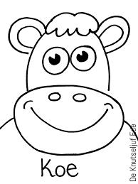 Dieren Kleurplaat Koe Intended For Kleurplaten Dieren Koeien