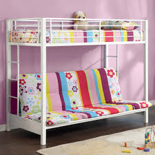 Kids Rooms Wonderful White Iron Cool Bunk Bed Design Inspiration Throughout  Teen Beds ...