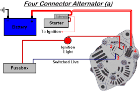 alternator wiring diagrams alternator image wiring denso 3 wire alternator diagram wirdig on alternator wiring diagrams