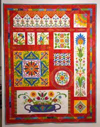 Fiesta Mexico-New Quilt Â« Karen Kay Buckley Blog & Block One Adamdwight.com
