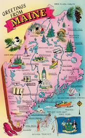 State Visit Map We Maine New Road Are The In Maine Best Located Waterville Of Trip Madison Maine Near Fun England