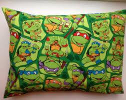 Travel / Child Pillow Case / Teenage Mutant Ninja Turtles / Heroes in a  Half Shell