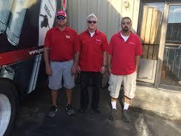 from left to right owner of sj enterprises stephen johnston justin white stephen davis and buster latta