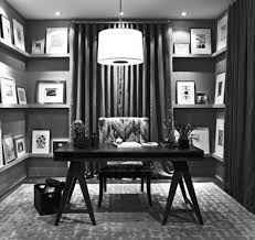 office black. 21 Black And White Home Office Designs Decorating Ideas Design E