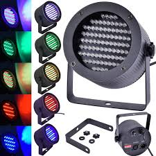2 x 86 rgb led stage light dmx lighting laser projector for dj party disco uk