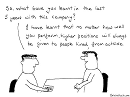 corporate ladder heirarchy business office management cartoons job hard work