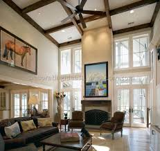 Vaulted Living Room Decorating Living Room With High Ceilings Decorating Ideas 10 Best Living