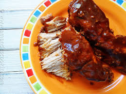 Slow Cooker BBQ Ranch Country Ribs  Picky PalateCountry Style Ribs Recipes Slow Cooker
