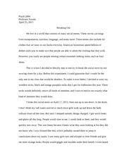 psy a wa rakel bergland bergland h v r rakel bergland 3 pages social norms essay social psychology