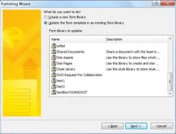Form Library Sharepoint 2010 Publish A Form Infopath