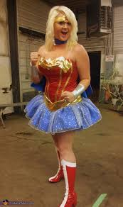 Wonder Woman Costume Pattern Mesmerizing Wonder Woman Homemade Halloween Costume