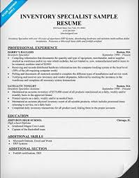 Inventory Control Specialist Resume - http://topresume.info/inventory- control