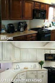 cost refacing kitchen cabinets refaced kitchen cabinets before and after photo average cost to reface kitchen