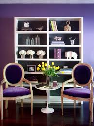 Living Room Purple Behind The Color Purple Hgtv
