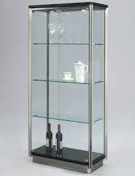 interior astonishing small curio cabinets with glass doors 45 on home decoration ideas with small