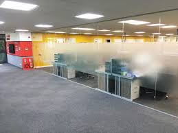 glass office wall. lns turbo uk ltd barnsley south yorkshire glass partition interior office wall