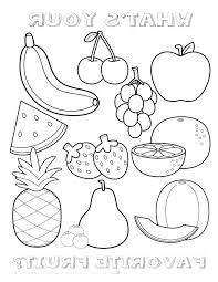 Fruit Coloring Pages For Preschoolers E9790 Coloring Pages Fruit