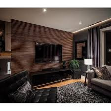 brown pvc wall panels for living room