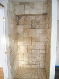 Walk In Tile Shower Bathroom White Tile Shower Floor Glass Walk In Shower Doors
