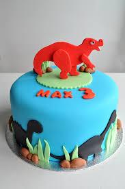 Dinosaur Birthday Cake With Topper Kildare Treats