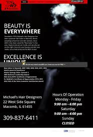 Michael S Hair Design Macomb Il Michaels Hair Designers Competitors Revenue And Employees