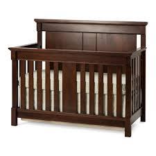 unusual nursery furniture. 4 In 1 Brown Wooden Wayfair Cribs For Cool Nursery Furniture Design Unusual