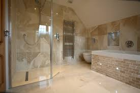 ... All Marble Floors And Wall Bathroom Decoration With Small Wet Room  Design Wide Shower ...