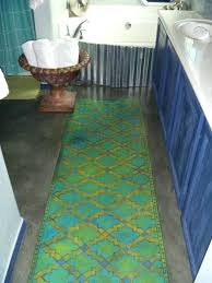 rug runners for bathroom classic bathroom decor ideas with green bathroom runner rug runners bathroom