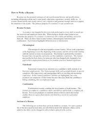 Ways To Write A Resume Bongdaao Com