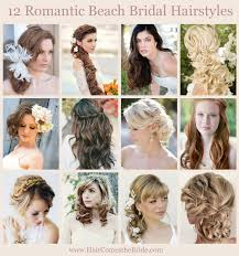 Hairstyles For Bridesmaids 24 Awesome 24 Romantic Beach Bridal Hairstyles Hair Comes The Bride
