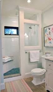 Bathrooms Without Tiles Brown Painted Shower Stalls For Small Bathrooms Without Door