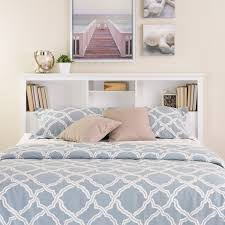 Bookcase Bedroom Furniture Full Queen Bookcase Headboard Walmartcom