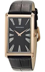 <b>ROMANSON</b> Mens Collection <b>TL 0390 MR</b>(<b>BK</b>) - купить <b>часы</b> в в ...