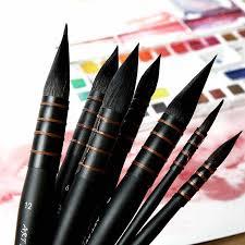 <b>1Piece</b> Handmade Squirrel's Hair <b>Artist Watercolor</b> Paint <b>Brush</b> ...