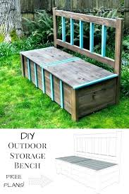 outdoor storage benches patio bench with and best ideas on outside