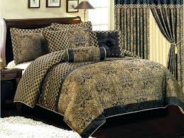 silver comforter set home and furniture best choice of tan and black bedding in comforter sets