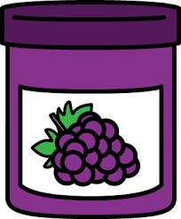 grape jelly clipart. Plain Clipart To Grape Jelly Clipart WorldArtsMe