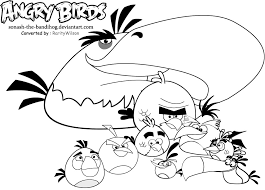 angry birds space coloring pages getcoloringpages com
