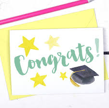 Congratulations For Graduation Congratulations Graduation And Exams Card