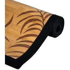 bamboo area rug 4x6 handmade tropical leaf rayon from 4 x 6