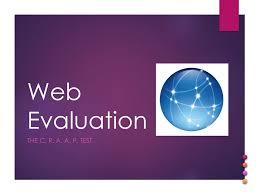 Craap Test Web Evaluation The C R A A P Test Ppt Download