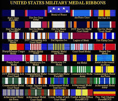 Af Medals Chart A Guide To Military Medal Ribbons Helpful For Those Who