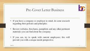 Sample Cover Letter Tender Proposal