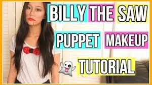 billy the saw puppet makeup tutorial aianna khuu
