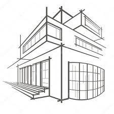 modern architectural sketches. Plain Architectural 1024x1024 91 Modern House Architecture Sketch With Architectural Sketches