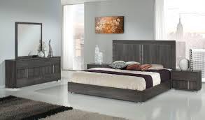 Modern Grey Bedroom Modrest Luca Italian Modern Grey Bedroom Set