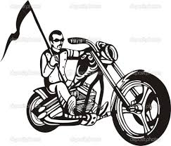 Motorcycle clipart for kid 32