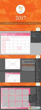Indesign Calendar Template Cool Calendar Template 44 InDesign Free Download Vector Stock Image